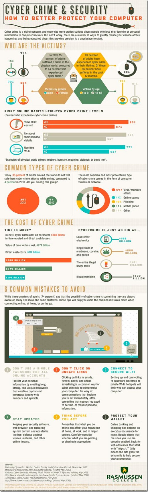 cybercrime infographic