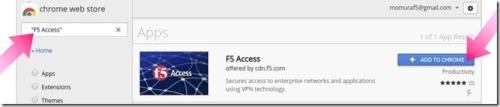 f5 access